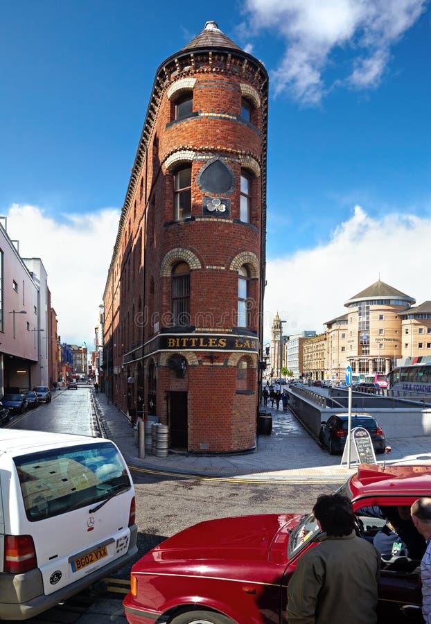 Бар Bittles в Белфасте стоковая фотография rf