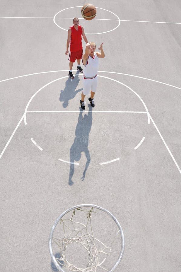 баскетболисты 2 стоковая фотография rf