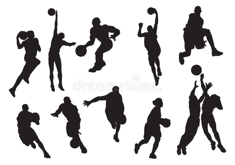баскетболист иллюстрация штока