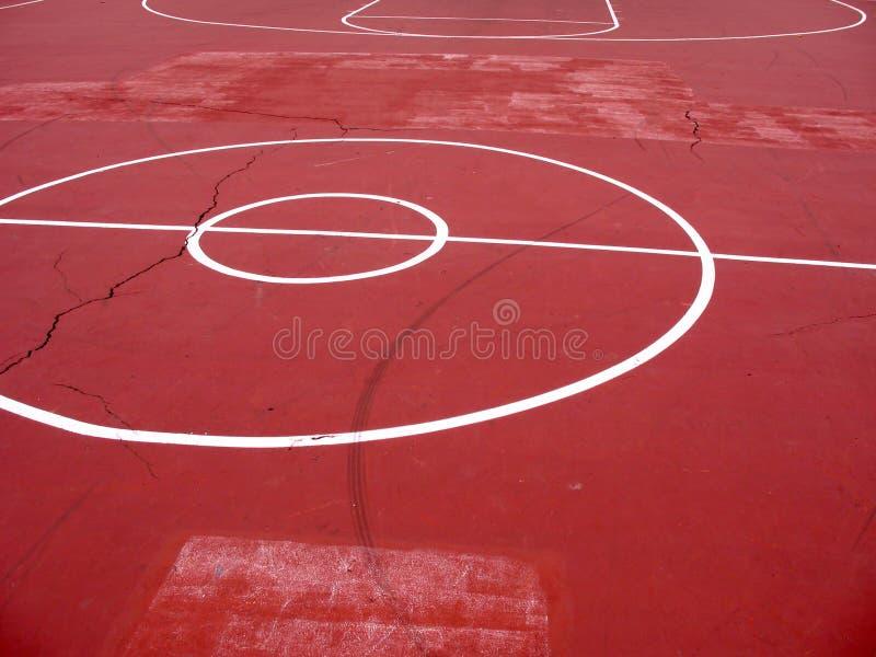 баскетбольная площадка урбанская стоковые изображения rf
