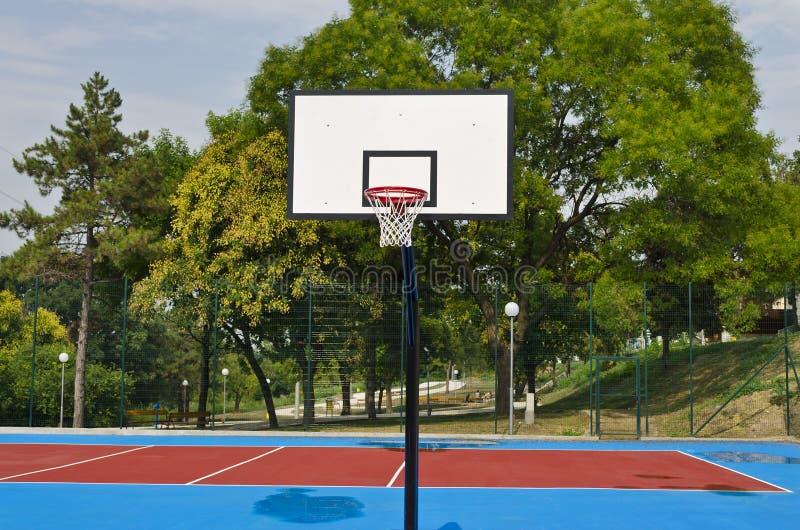 баскетбольная площадка если иллюстрация стоковая фотография rf
