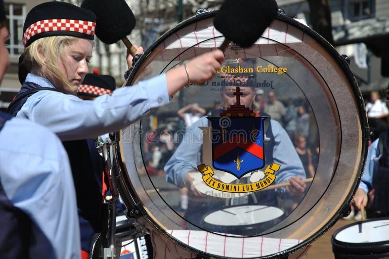 Басовый барабанщик стоковое изображение rf