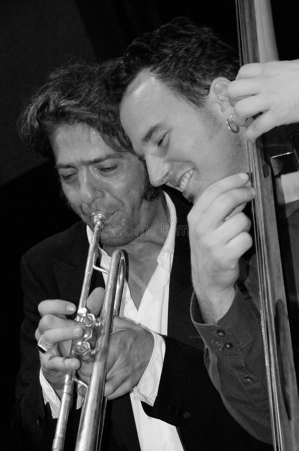 басовый trumpet варенья стоковая фотография