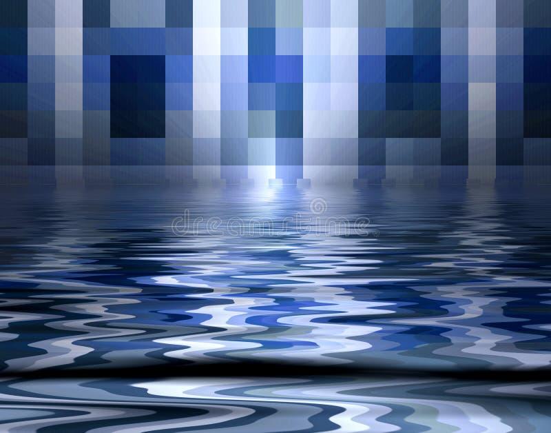 бассеин пикселов иллюстрация вектора