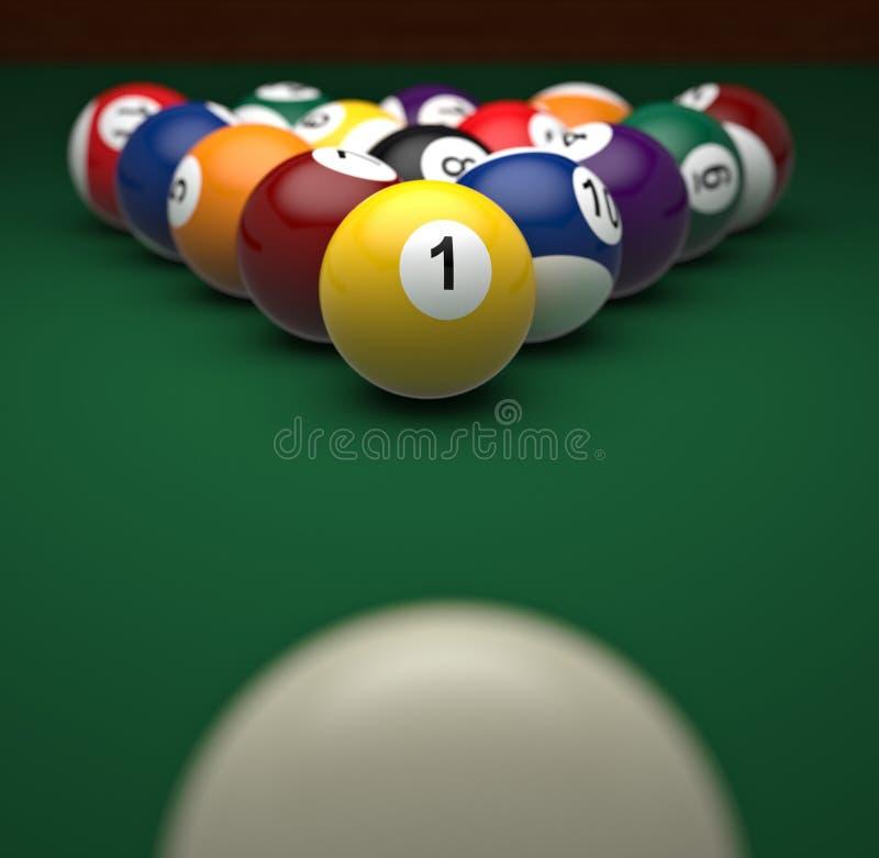 бассеин света луча шариков бесплатная иллюстрация
