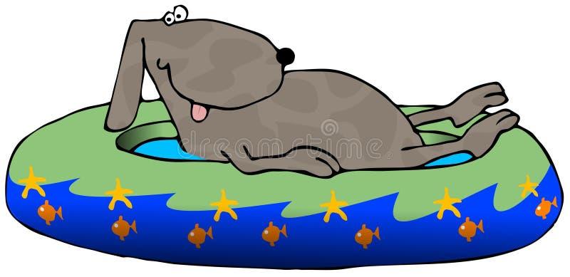 бассеин собаки иллюстрация штока