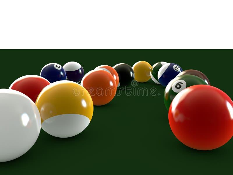 бассеин шариков иллюстрация штока