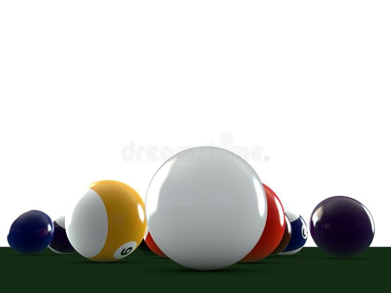 бассеин шариков иллюстрация вектора