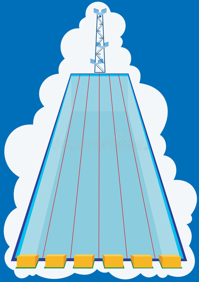 бассеин иллюстрация штока