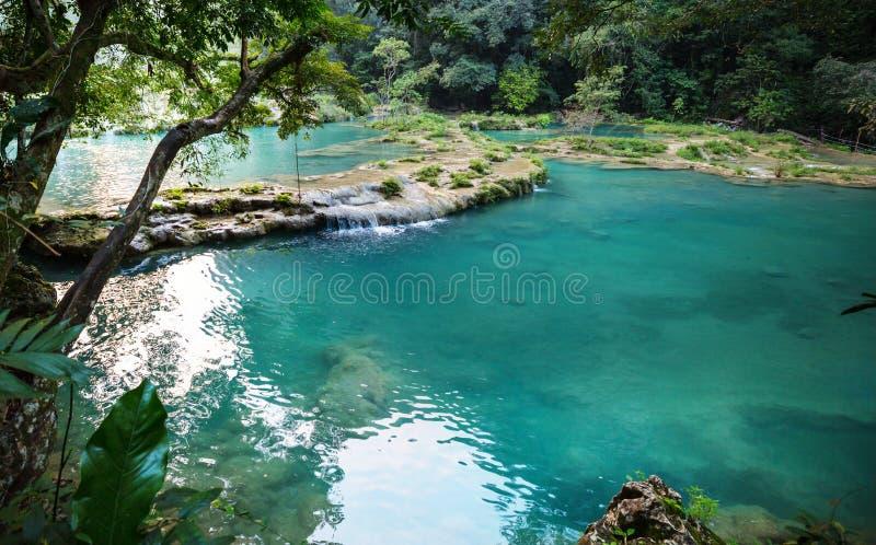 Бассейны в Гватемале стоковые фото