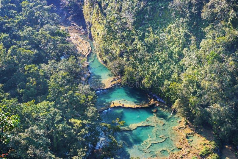 Бассейны в Гватемале стоковое изображение rf