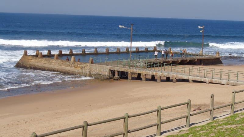 Бассейн приливной волны стоковое фото rf