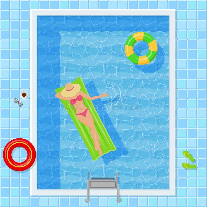 бассейн рисунок сверху фото раздатка
