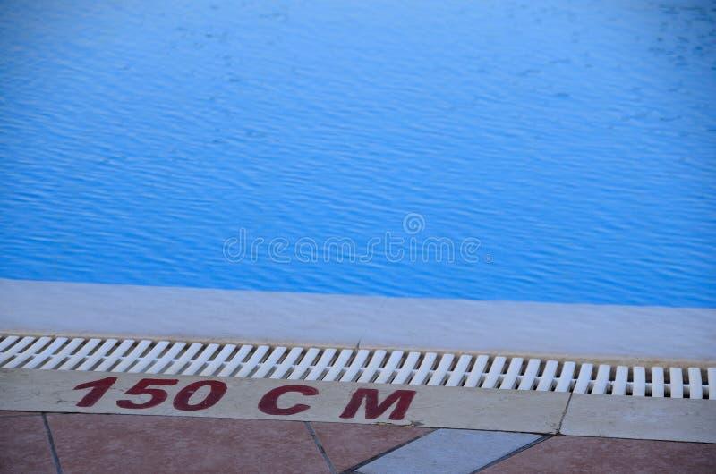Бассейн с 150 см стоковая фотография