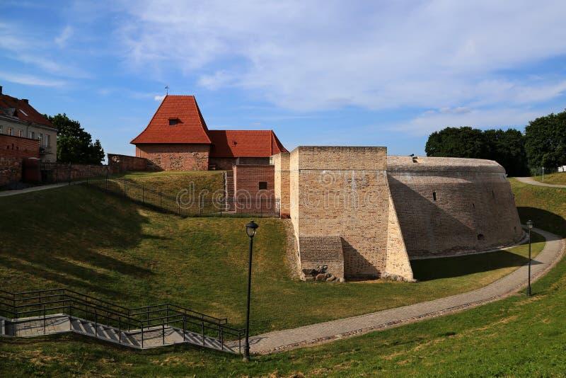Бастион артиллерии стены города защитительной стоковые фотографии rf
