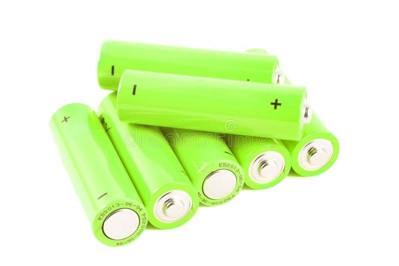 батареи складывают малое стоковая фотография rf
