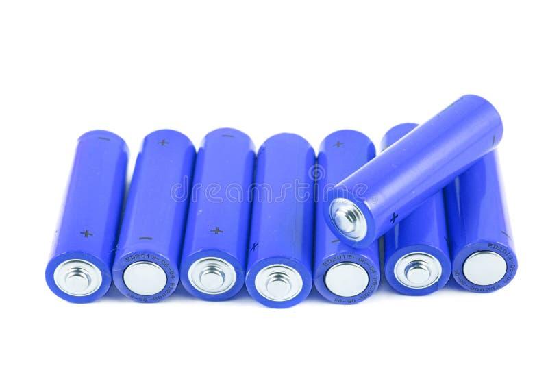 батареи складывают малое стоковые фотографии rf