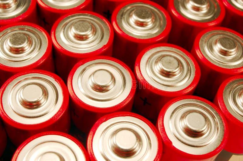 батареи aa стоковые фотографии rf