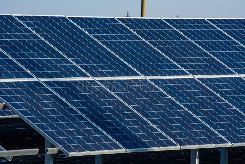 Батарея Солнця стоковое фото