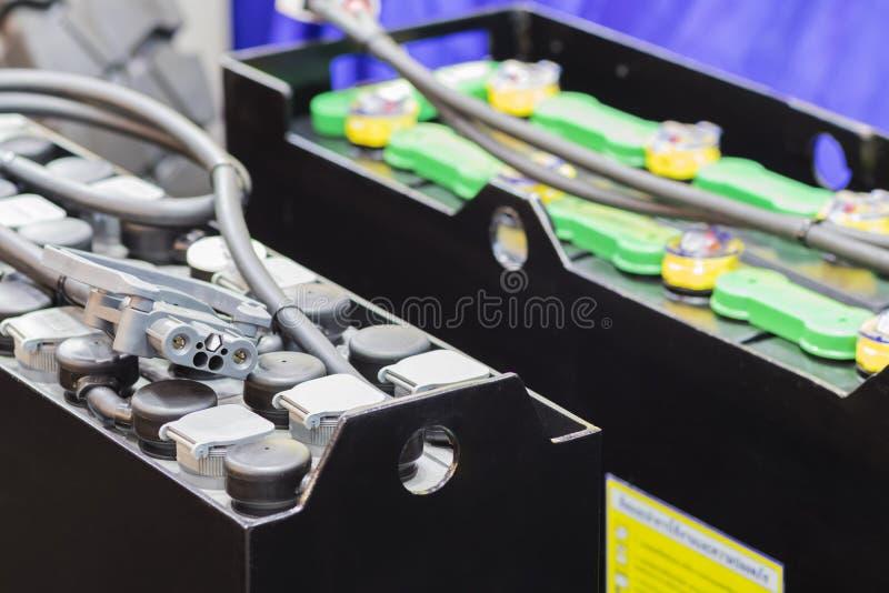 Батарея Industial для грузоподъемника/vehecle/автомобильного стоковые фото