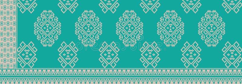 Батик от Индонезии иллюстрация штока