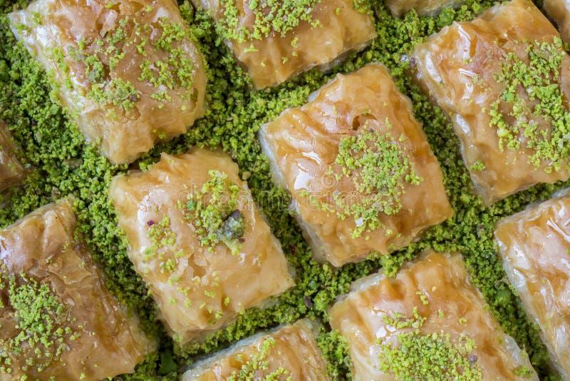 Бахлава от турецкой кухни стоковые фотографии rf