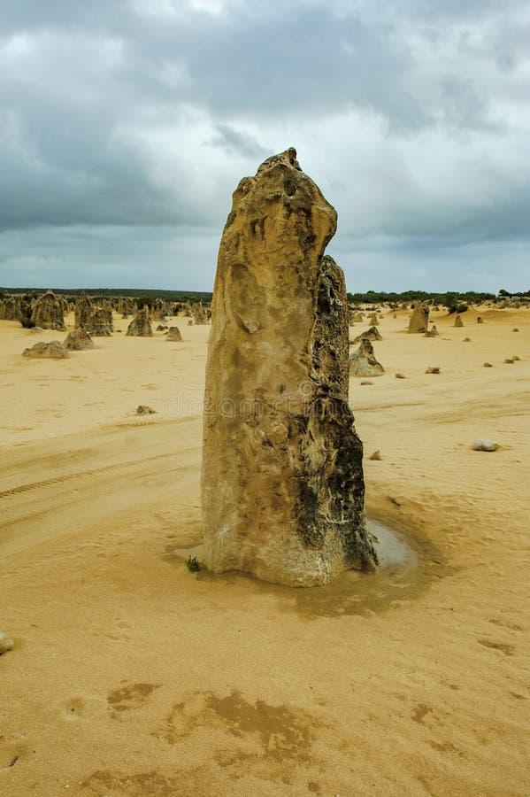 Башенкы, западная Австралия, парк Nambung башенкы стоковая фотография