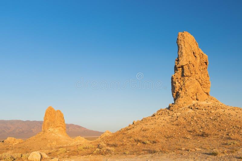 Башенкы Trona стоковое изображение