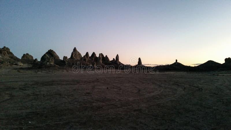 Башенкы Trona стоковая фотография rf