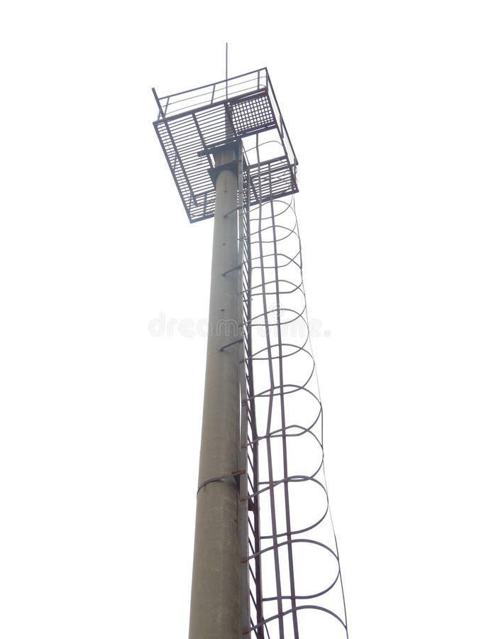 Башенная антенна радиосвязи стоковые изображения rf