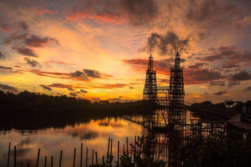 Башни близнецов MJAA стоковая фотография rf