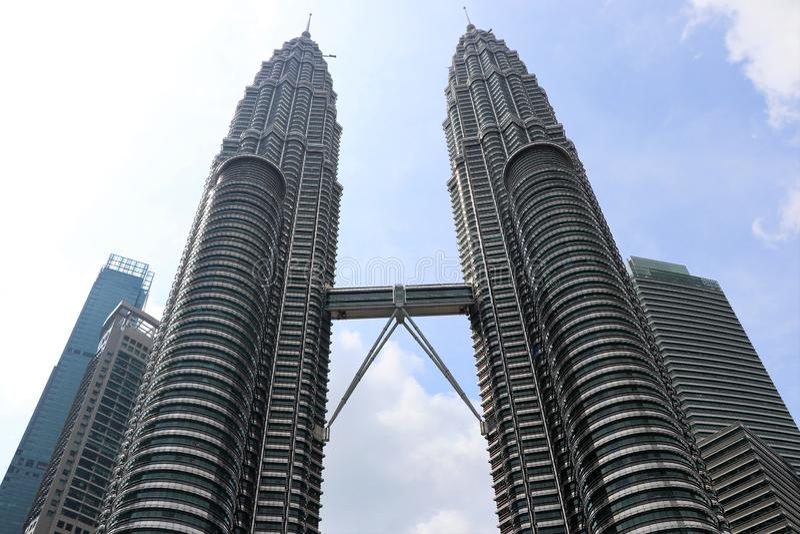Башни Близнецы Petronas - Куала-Лумпур Малайзия Азия стоковые изображения rf