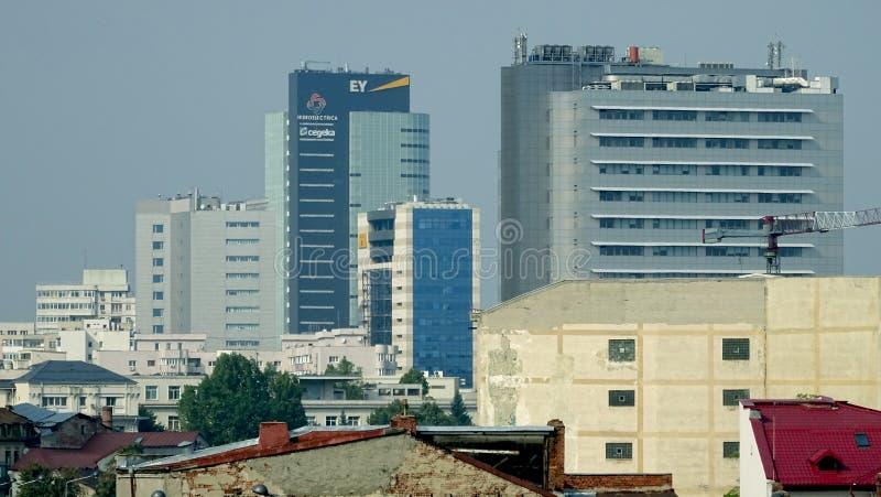 Башни Бухареста стоковая фотография rf