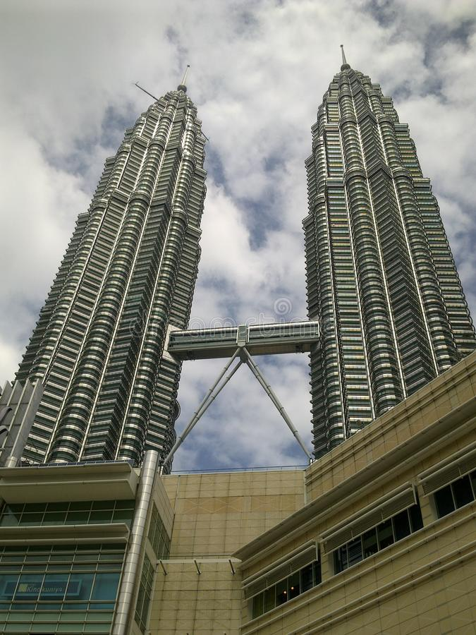 Башни Близнецы Малайзия стоковые фотографии rf