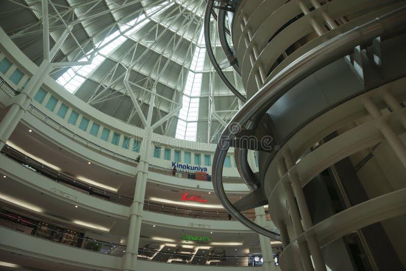 Башни Близнецы Petronas продают центр в розницу стоковая фотография rf