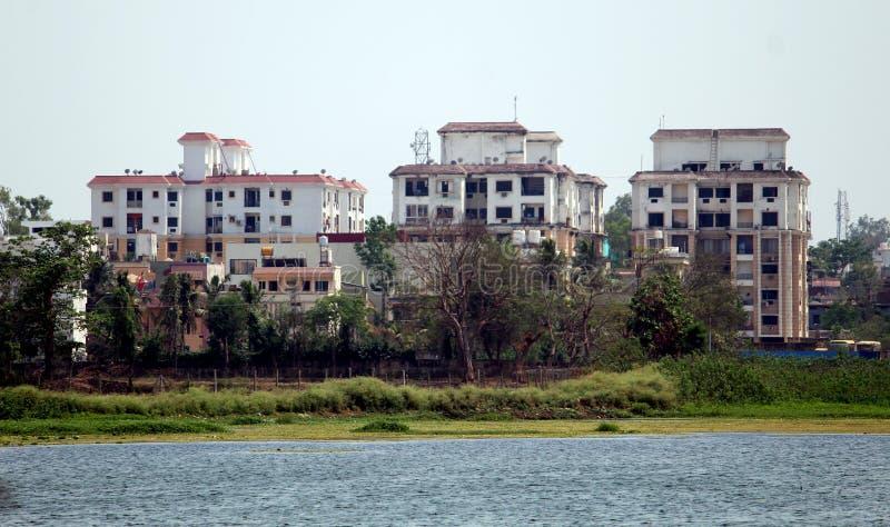 Башни города Jagdalpur стоковые фотографии rf