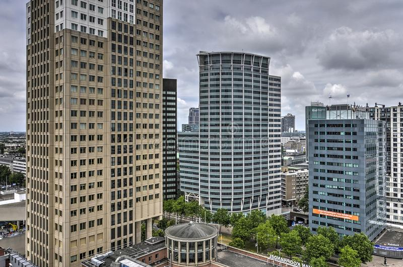 Башни жилого и офиса стоковое изображение