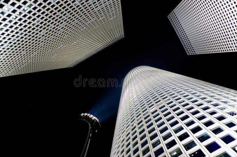 башни Израиля azrieli стоковое фото