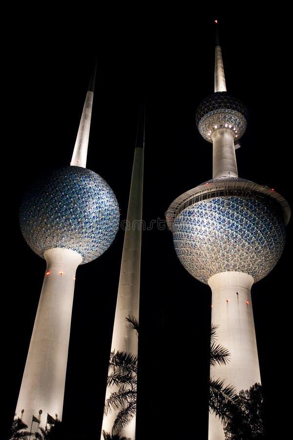 башни Кувейта стоковое фото