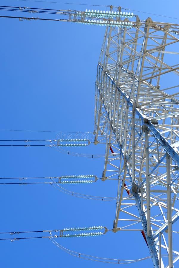 Башни передачи наивысшей мощности стоковая фотография