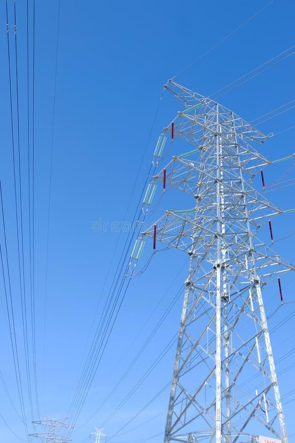 Башни передачи наивысшей мощности стоковые фото