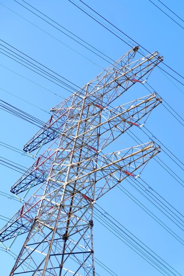 Башни передачи наивысшей мощности стоковая фотография rf