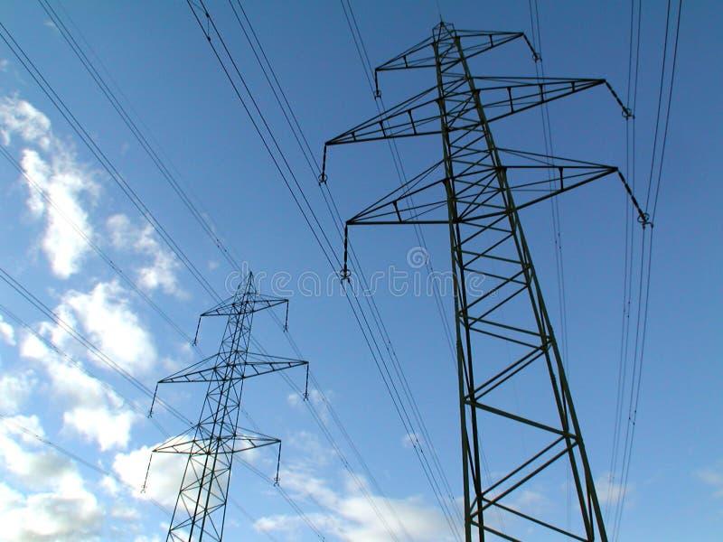 башни силы Стоковые Фотографии RF