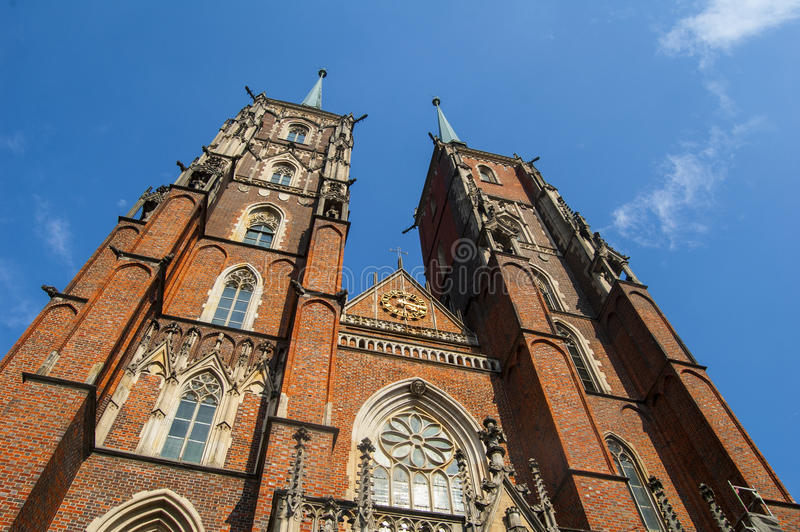 Башни собора стоковые фото