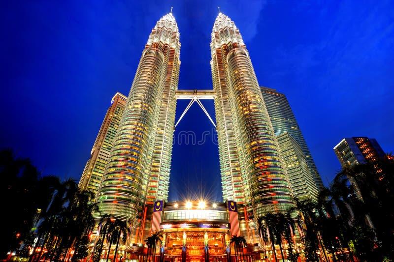 Башни Petronas стоковое изображение