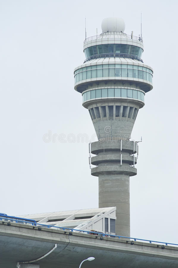 Башня авиадиспетчерской службы стоковое фото
