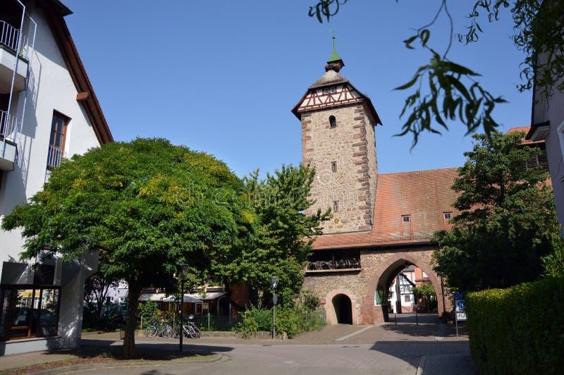 Башня аиста стоковое фото rf