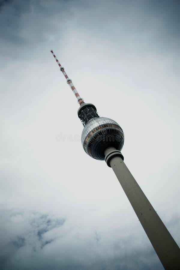 Башня Берлина TV стоковые изображения
