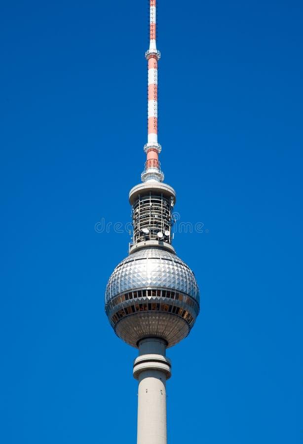 Башня Берлина TV стоковая фотография