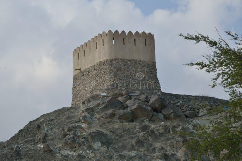 Download Башня вахты за мечетью Badiyah Al Стоковое Фото - изображение насчитывающей archfiend, голодать: 81815254